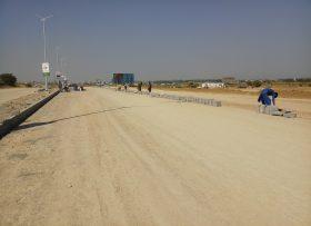 Block Footpath Construction