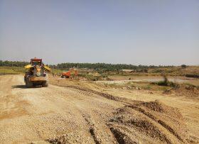 Road Construction near MiniDam